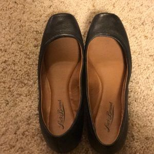 Lucky Brand squared toe ballet flats
